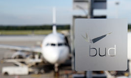Budapest Airport Stock Photo