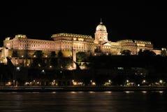 Budapest alla notte 1 Fotografia Stock Libera da Diritti