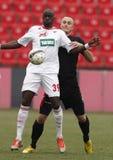 Budapest Honved gegen DVSC-TEVA OTP Bank-Liga-Fußballspiel Stockbilder