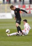 Budapest Honved vs. DVSC-TEVA OTP Bank League football match Stock Images