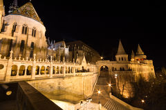 Budapest architecture at night Royalty Free Stock Photography