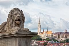 Budapest architektura miasto Zdjęcie Royalty Free