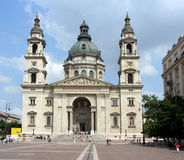 Budapest Basilica Royalty Free Stock Images