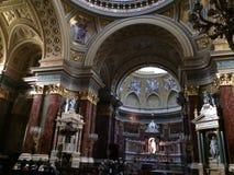 Budapest Basilica Royalty Free Stock Photo