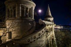 Budapest, bastião de Fishermans, Hungria Foto de Stock Royalty Free