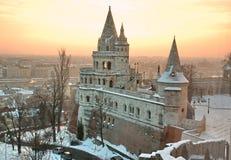 Budapest - bastión de los pescadores imagen de archivo