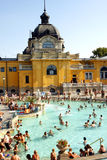 Budapest baths Stock Photo
