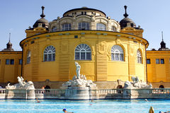 Budapest baths Royalty Free Stock Photos