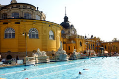 Budapest baths Stock Images