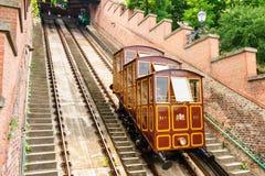 Budapest bergbana royaltyfri foto