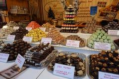 Budapest boże narodzenia wprowadzać na rynek w Budapest, Węgry, 2015 zdjęcie stock
