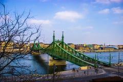 Budapest-Brücke Lizenzfreie Stockfotografie