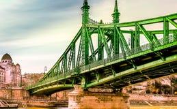 budapest bridżowa swoboda Fotografia Royalty Free