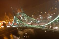 budapest bridżowy szabadsag Fotografia Royalty Free