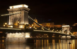 Budapest bridge Stock Images