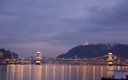 Budapest Bridge Royalty Free Stock Photo