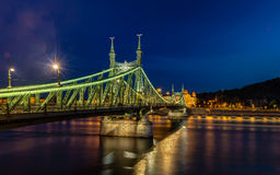 Budapest bridge Royalty Free Stock Photo
