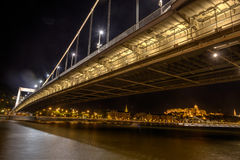 Budapest bridge stock photography