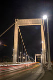 Budapest bridge stock photo