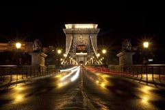 Budapest bro Arkivbild