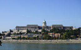 Budapest Buda Castle Stock Image