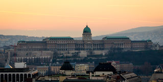 Budapest, Buda Castle Stock Photos