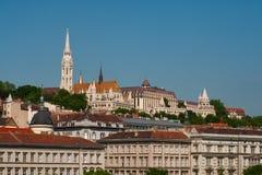 Budapest, Buda castle Royalty Free Stock Image