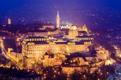 Budapest, Buda Catsle (Royal Palace) Royalty Free Stock Images