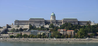 Budapest Buda Palace Stock Photo