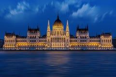 Budapest, Buda, Pest, Parliament Stock Image