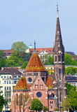 Budapest Buda Reformed church Royalty Free Stock Photography