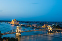 Budapest. No one looks back on their life and remembers the night they got plenty of sleep... all beautiful things are mould by enormous pressure Stock Photo
