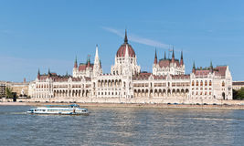 Budapest. The building of the Parliament (Hungary Royalty Free Stock Photo