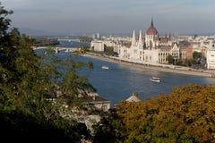 Budapest bulwar Zdjęcia Stock