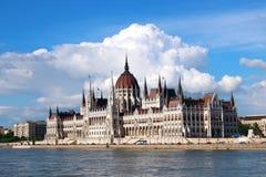 budapest byggnadsparlament Fotografering för Bildbyråer