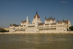 budapest byggnadsparlament royaltyfri fotografi