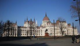 budapest byggnadsparlament Royaltyfria Foton