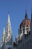 budapest byggnadsparlament Royaltyfri Bild