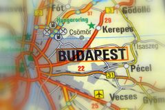 Budapest, Hungary - Europe. Budapest, the capital city of Hungary, Europe stock photo