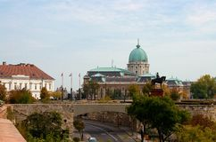 Budapest, castillo de Buda foto de archivo