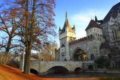 Budapest castle bridge Stock Images