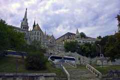 Budapest castle Stock Photo