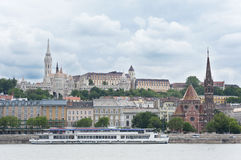 Budapest Castle Royalty Free Stock Images