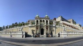 Budapest Castle Garden Bazaar Pavilion Royalty Free Stock Photo