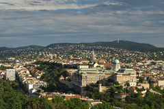 Budapest Castle Hill Royalty Free Stock Photos