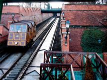 Budapest Castle Hill Funicular Royalty Free Stock Photography