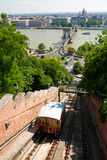 Budapest Castle Hill Funicular Stock Photos