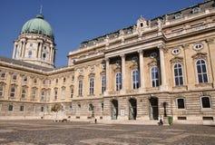 Budapest castle (Hungary) Royalty Free Stock Photo