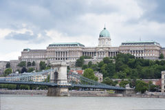 Budapest Castle Stock Photography