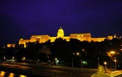 budapest castle view Στοκ εικόνες με δικαίωμα ελεύθερης χρήσης